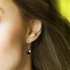 Boucles d'oreilles Fruit défendu onyx