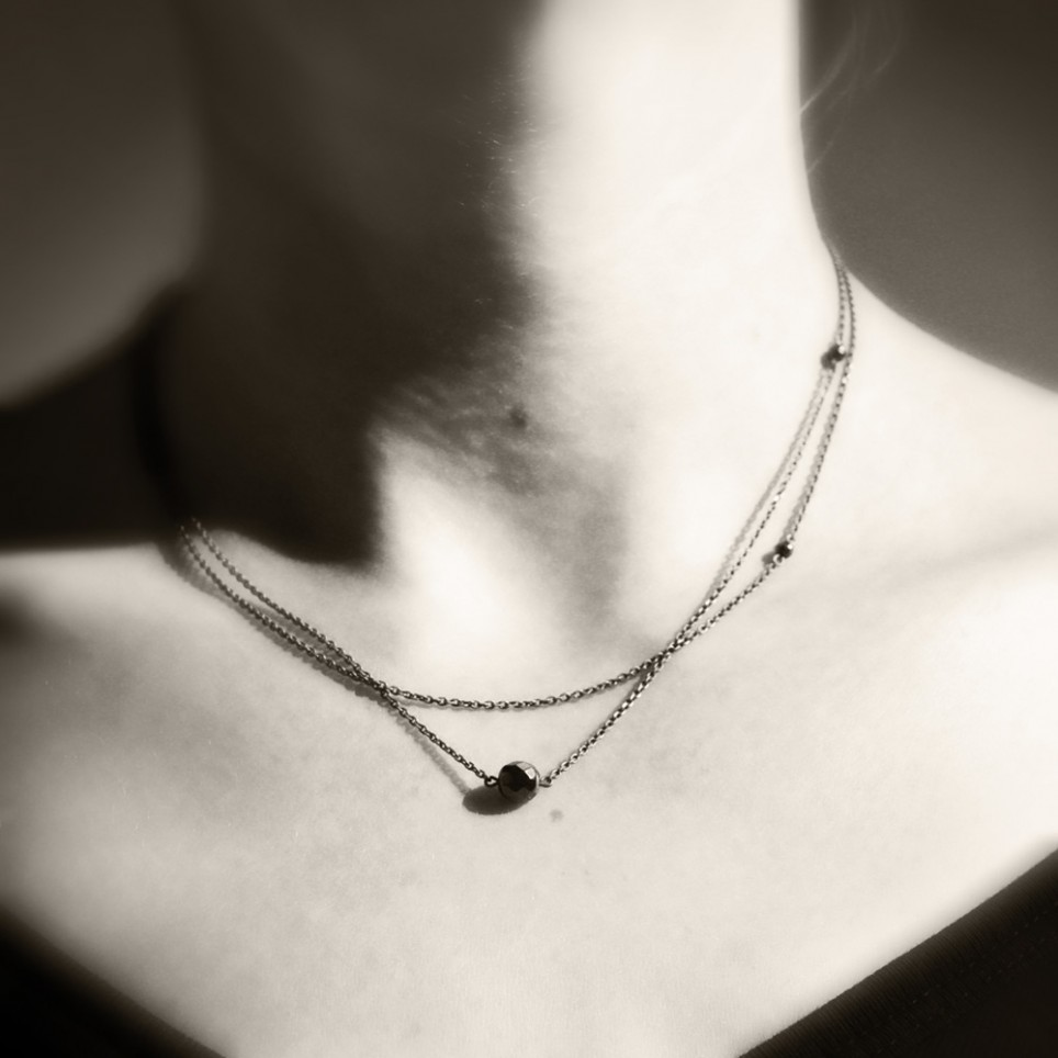 squires asymmetrical product lauren necklace