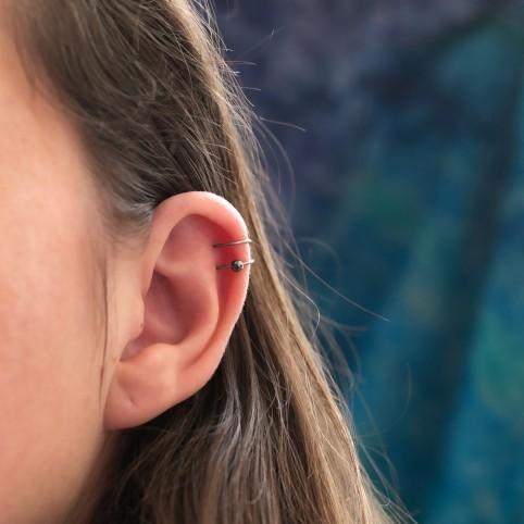 Bague d'oreille faux piercing cartilage